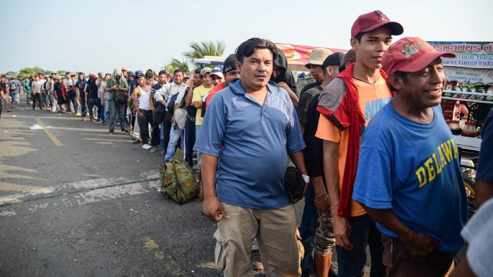 Congresista demócrata pide a López Obrador divulgar acuerdo migratorio - Migrantes. Foto de EFE