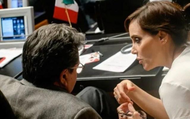 Monreal respalda a Lilly Téllez; lamenta requerimiento de separación - Foto de @LillyTellez