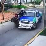 #Video Persecución en Argentina termina con asaltante muerto y dos más heridos