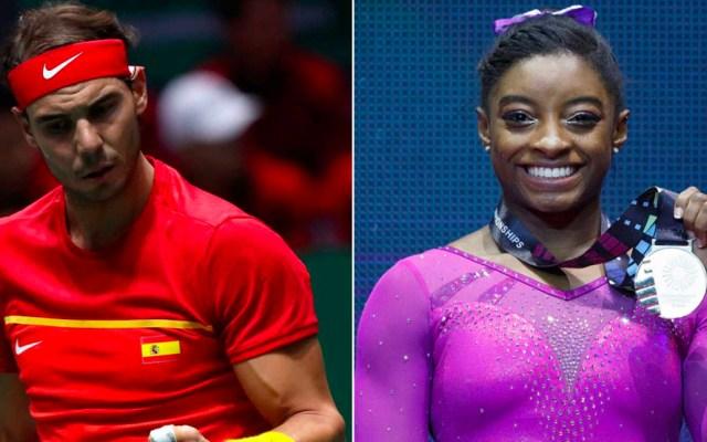 """Rafael Nadal y Simone Biles son los """"Campeones de Campeones"""" de 2019 - Rafael Nadal y Simone Biles son los"""