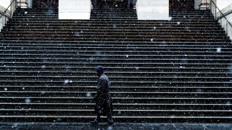 Declaran estado de emergencia en Nueva York por nevadas - Foto de EFE