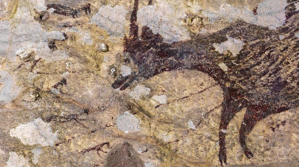 Descubren la obra de arte más antigua de la historia - Foto de Science Magazine
