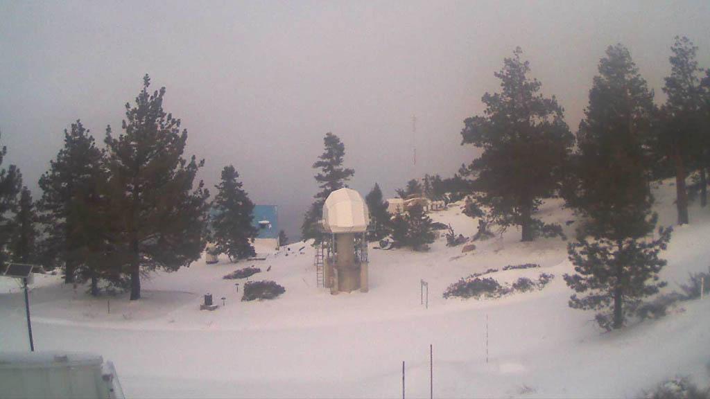 Cierran el Observatorio de San Pedro Mártir por bajas temperaturas - Observatorio UNAM Ensenada Baja California
