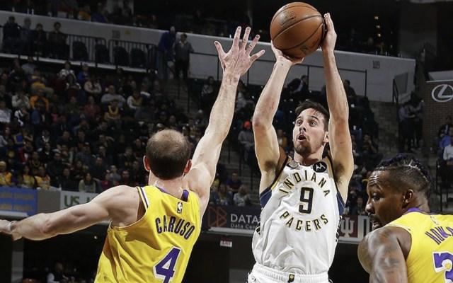 Pacers pone freno a Lakers en la NBA - Foto de @Pacers
