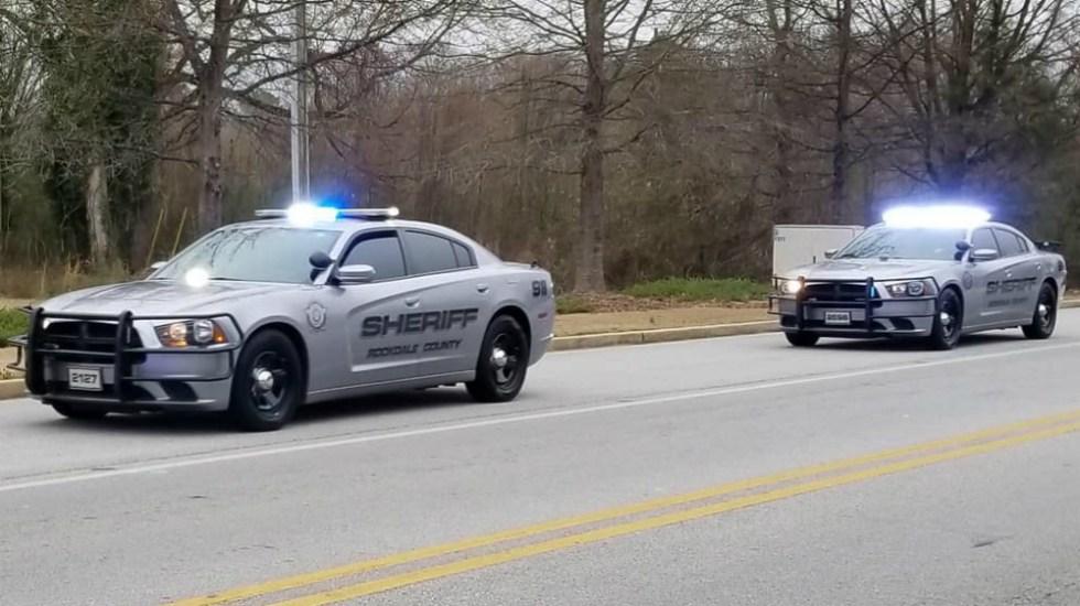 Tiroteo en una fábrica de Georgia deja al menos una persona herida - Foto de Rockdale County Sheriff's Office