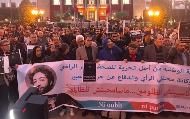 Piden liberación de periodista marroquí encarcelado por tuit - Piden liberación de periodista marroquí encarcelado por tuit