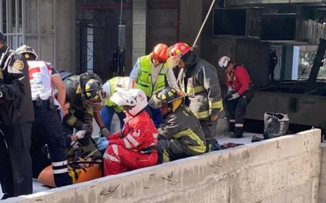 Accidente en construcción de Polanco deja tres heridos - Caída de andamio deja tres heridos en construcción de Polanco