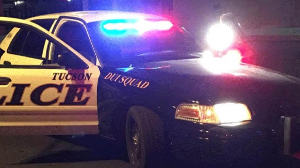 Policía Tucson patrulla