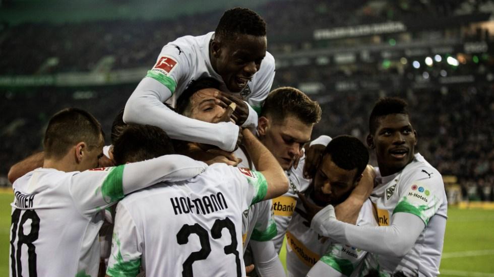 Borussia Mönchengladbach derrota al Bayern y da golpe de autoridad - Foto de @borussia