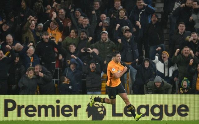 #Video Gol y asistencia de Raúl Jiménez contra el Manchester City - Foto de EFE
