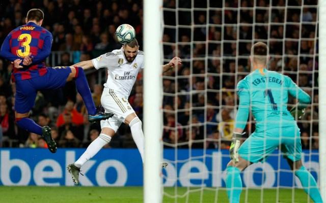 Real Madrid domina Clásico, pero empata ante Barcelona - Foto de EFE