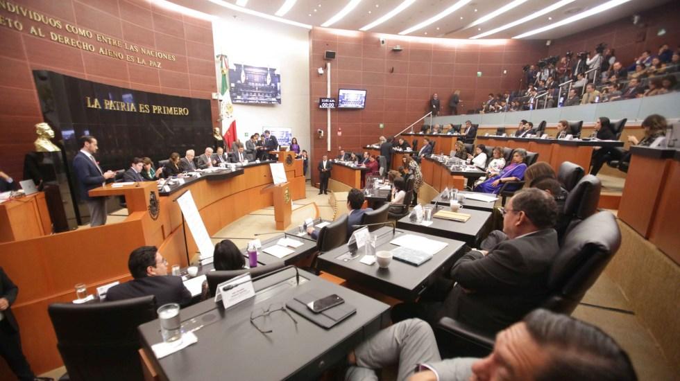 Senado rechazaría mecanismo adicional para el T-MEC en materia laboral, adelanta Monreal - Reunión de Comisiones Unidas de Relaciones Exteriores, Relaciones Exteriores América del Norte, de Trabajo y Previsión Social, de Economía y de Puntos Constitucionales; para analizar el Protocolo Modificatorio del T-MEC. Foto de Senado de la República