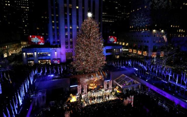 La Navidad llegó a Nueva York - Foto de EFE