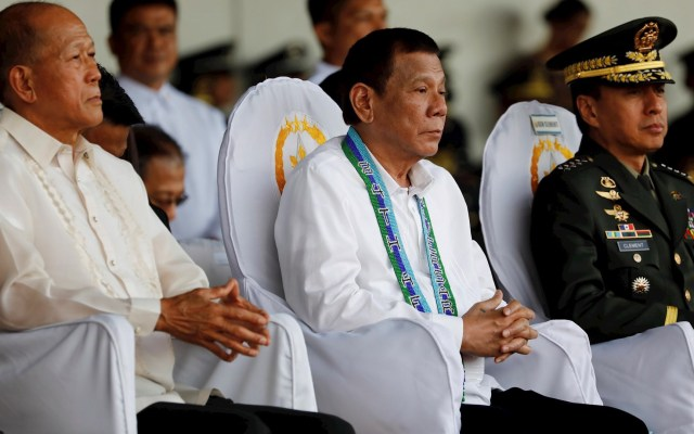Filipinas prohíbe entrada a senadores de EE.UU. por criticar condena a senadora - Rodrigo Duterte, presidente de Filipinas. Foto de EFE/EPA/ROLEX DELA PENA