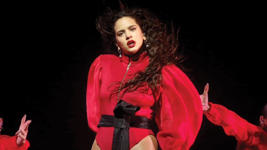 Rosalía hará colaboración con Billie Eilish - Foto de EFE