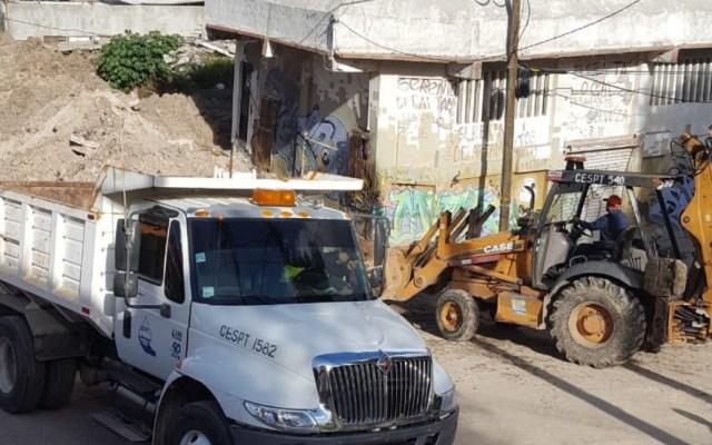 Analizan reubicación de 500 familias en Tijuana - Sánchez Taboada retiro de escombros