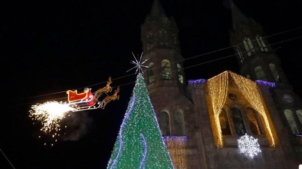 #Video 'Santa Claus' choca contra edificio en Tlaxcala - santa claus Apizaco