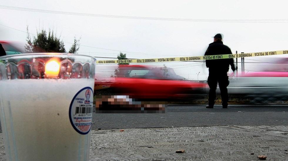 Suman 57 mil 753 homicidios dolosos en lo que va del sexenio de AMLO - Foto de Notimex