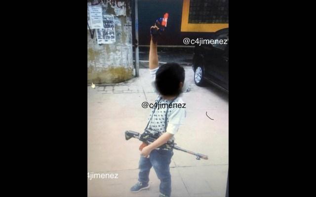 Sicario asesinado en AO compartía fotos de su hijo con armas - Sicario hijo Álvaro Obregón