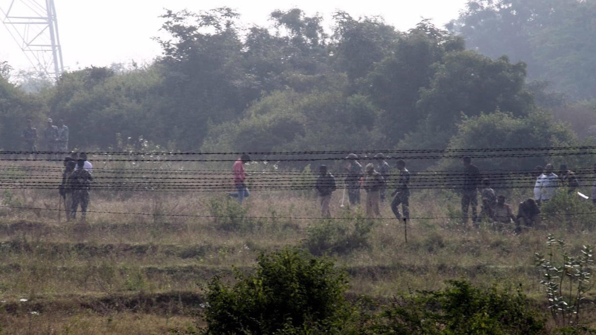 Sitio donde hallaron cadáver de joven veterinaria y asesinaron a sus violadores y homicidas. Foto de EFE