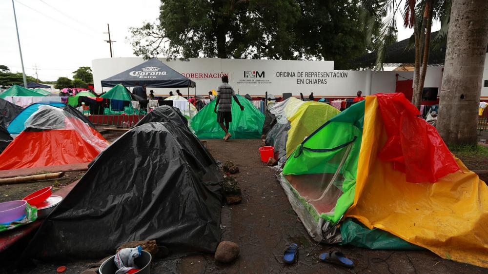 Tapachula, la cara de la desesperación y el caos migratorio - Foto de Notimex