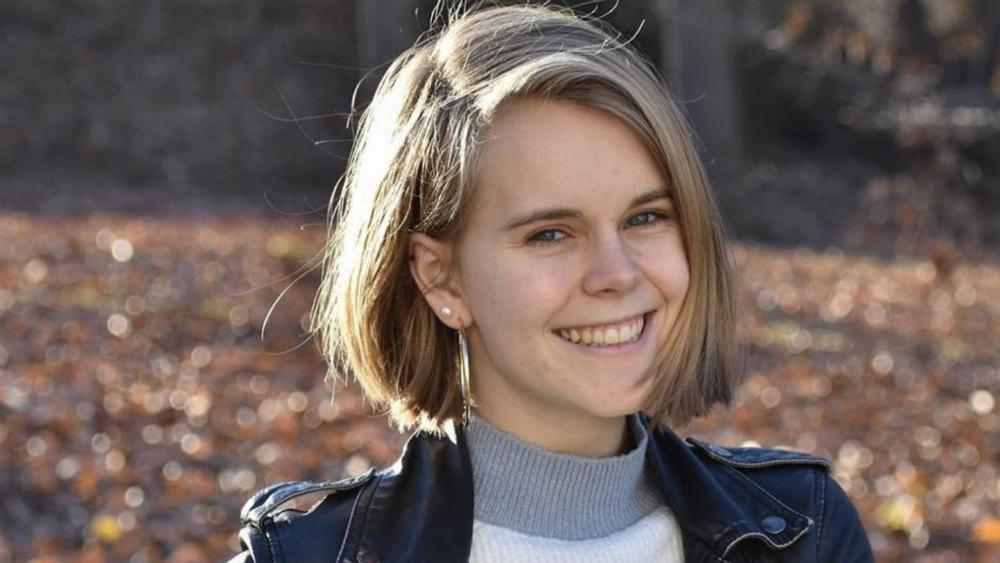 Buscan en EE.UU. a un joven de 14 años por el asesinato de una universitaria - Tessa Majors. Foto de New York Post