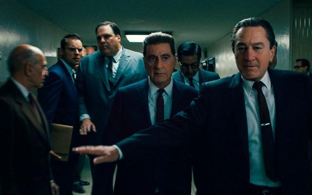 'The Irishman' consigue 17 millones de espectadores en cinco días - Escena de 'The Irishman'. Foto de @Variety