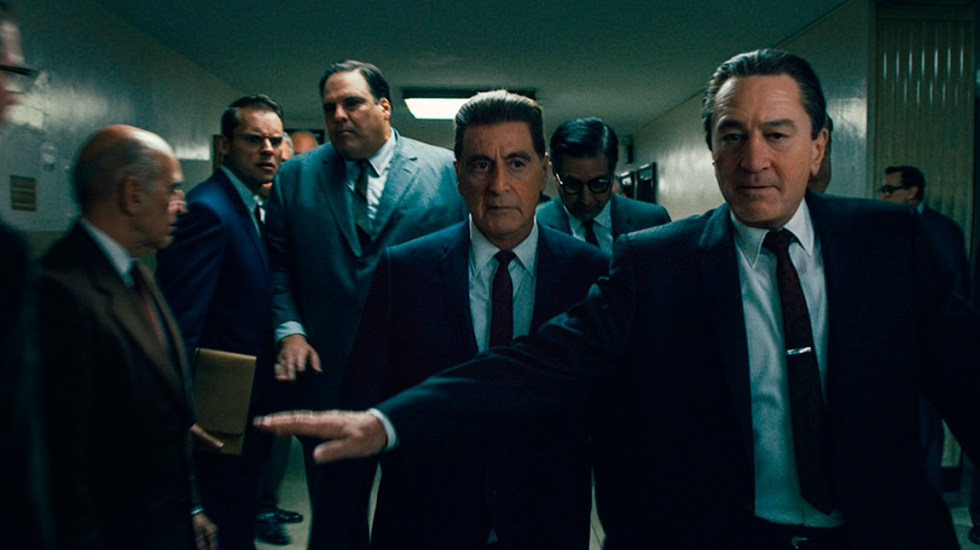 'The Irishman' consigue 17 millones de espectadores en cinco días - Escena de 'The Irishman'. Foto de @Variety
