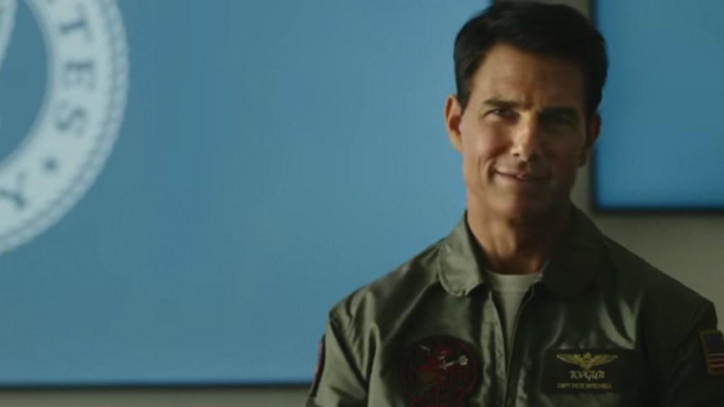 #Video El nuevo avance de 'Top Gun: Maverick' protagonizado por Tom Cruise - Captura de pantalla