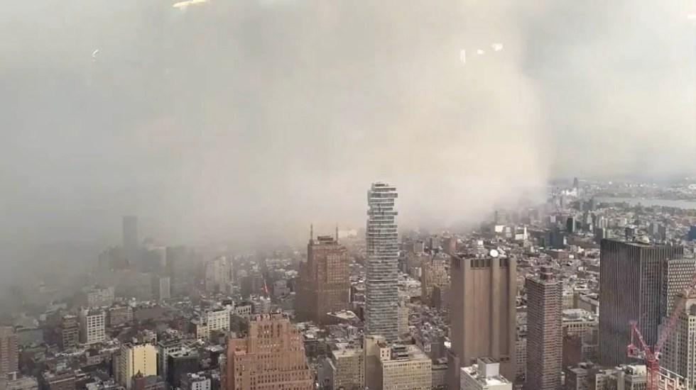 #Video Tormenta de nieve cubre en minutos la ciudad de Nueva York - Tormenta de Nieve Nueva York Estados Unidos