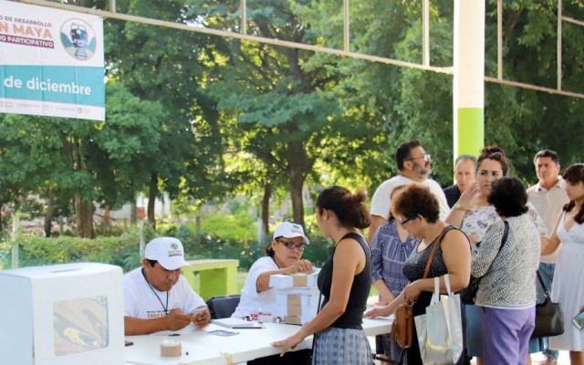 En enero comenzará licitación de Tren Maya, asegura López Obrador - Consulta Tren Maya. Foto deNotimex
