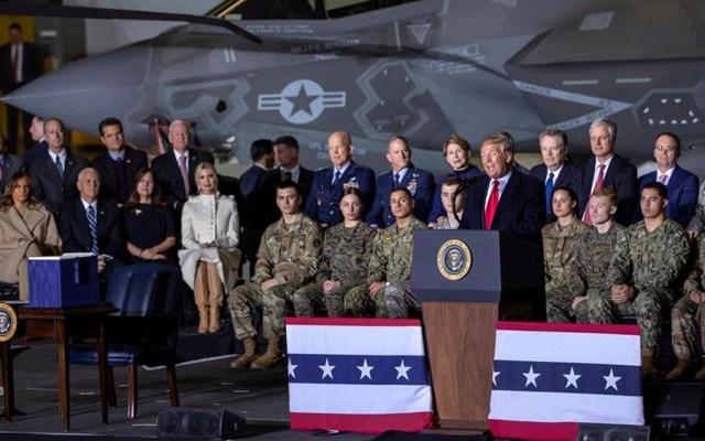 Trump aprueba creación del primer Comando Espacial de la Fuerza Aérea - Trump aprueba creación del primer Comando Espacial de la Fuerza Aérea