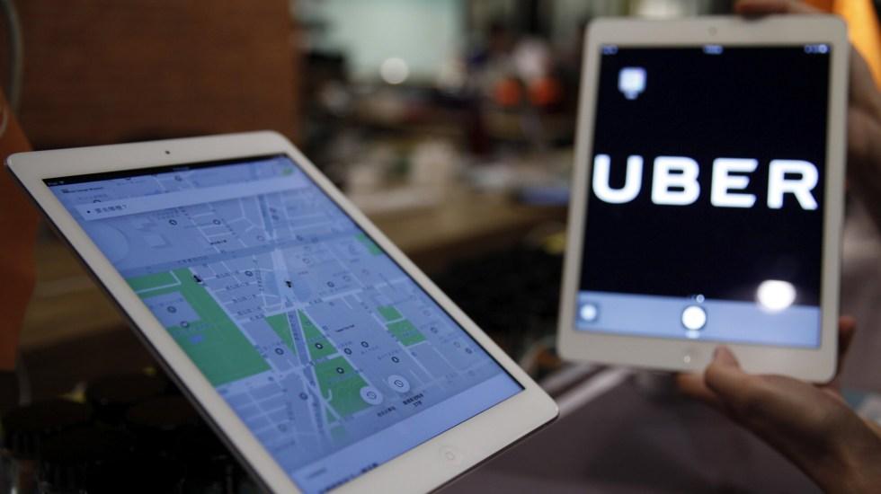 Hyundai y Uber anuncian acuerdo para crear sistema de taxis aéreos - Uber. Foto de EFE