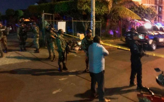 Asesinan al jefe de la Policía de Cuernavaca, Morelos - Unidad Habitacional Teopanzolco donde asesinaron a encargado de despacho de Seguridad de Cuernavaca. Foto de @amarilloalarcon