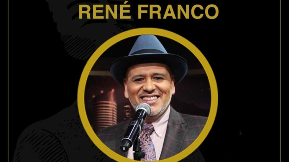 René Franco; ¡último show del año!