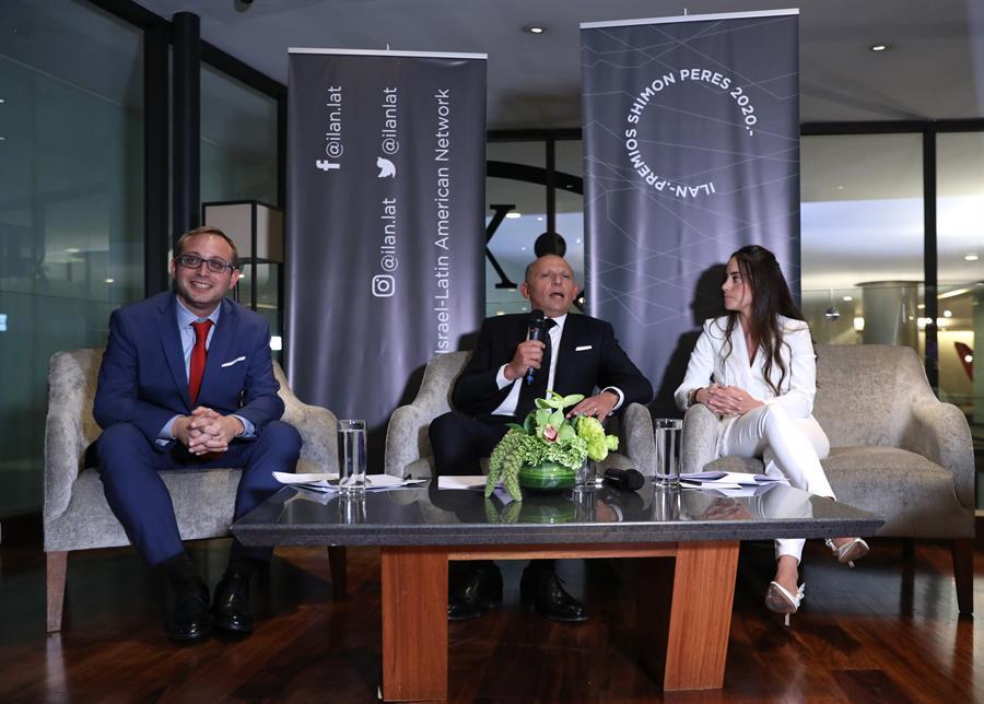 Fundación Ilan entrega premios Shimon Peres a innovadores en Ciudad de México