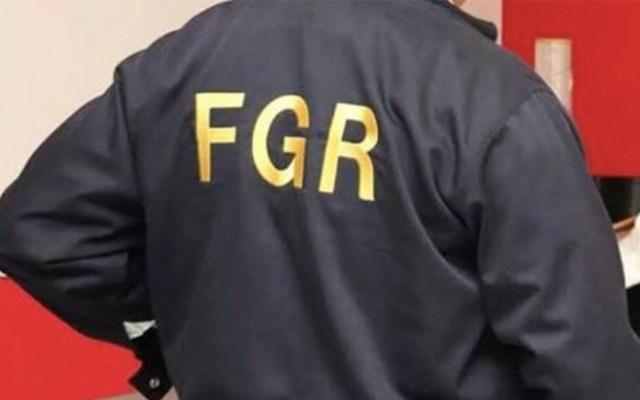FGR localiza en SLP a mujer argentina presuntamente víctima de trata - Agente de la FGR. Foto de FGR
