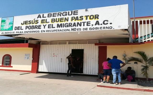 Migrantes viven con miedo y precariedad en albergues del sur de México - Migrantes viven con miedo en albergues del sur de México