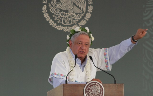 López Obrador reprocha a oposición no rechazar a industria minera - AMLO Andrés Manuel López Obrador Texcoco 05012019