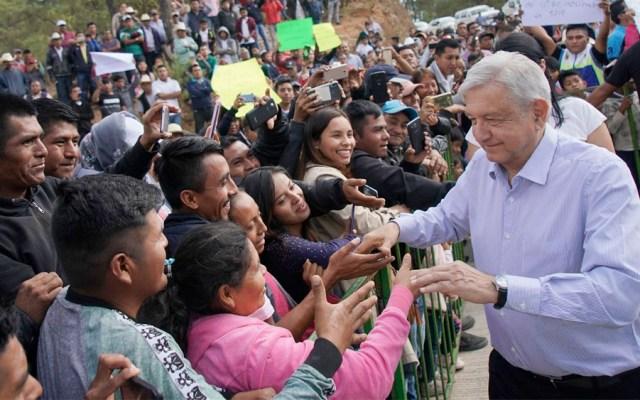 Debemos hacer historia para sacar adelante a México, afirma López Obrador - Andrés Manuel López Obrador en Santos Reyes Yucuná, Oaxaca