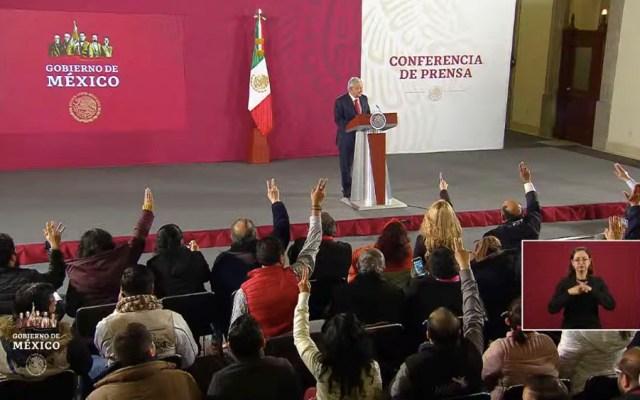 Casi el 60 por ciento de los mexicanos no tiene seguro social, afirma AMLO - Casi el 60 por ciento de los mexicanos no tiene seguro social, afirma AMLO