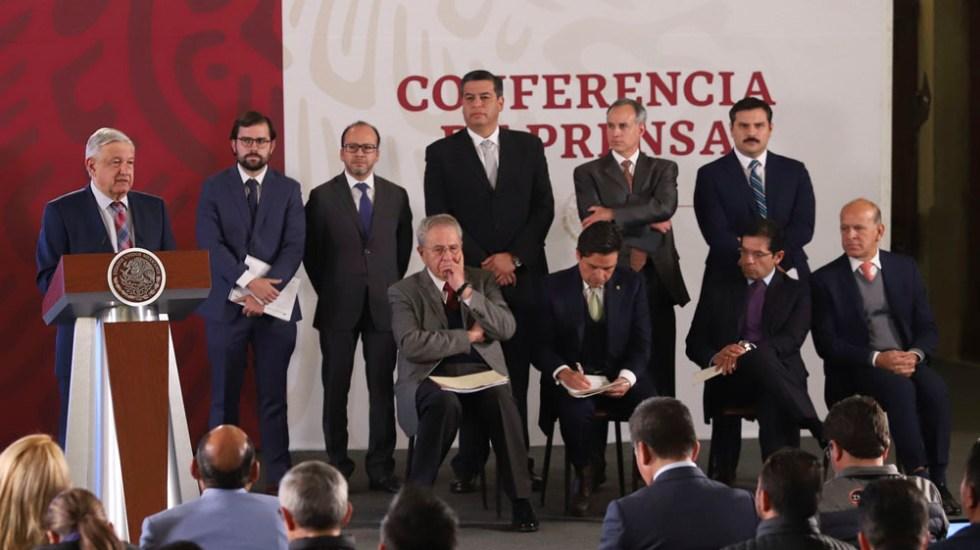 López Obrador presenta a los cuatro responsables del Insabi - López Obrador presenta a los cuatro responsables del Insabi