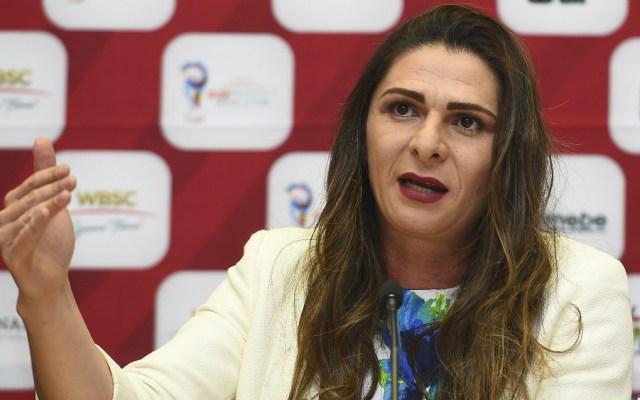 """Quejas del COM por falta de dinero para Tokio 2020 """"son chantaje"""", declara Ana Guevara - Foto de Mexsport"""