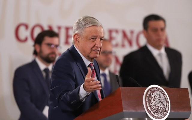 """T-MEC desarrollará condiciones """"para el bienestar del pueblo"""", afirma AMLO; conferencia matutina (16-01-2020) - 200116021. Ciudad de México, 16 Ene 2020 (Notimex-Gustavo Durán).- El presidente Andrés Manuel López Obrador durante sesión de preguntas y respuestas en su conferencia matutina. Ciudad de México, 16 de enero de 2020. NOTIMEX/FOTO/GUSTAVO DURÁN/GDH/POL/4TAT"""