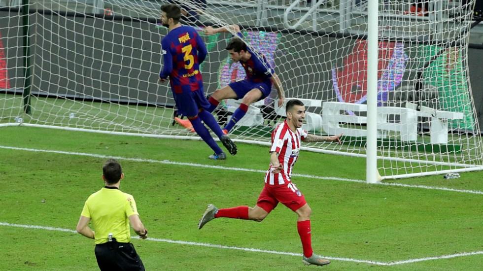Atlético de Madrid remonta al Barça y avanza a final de Supercopa - Foto de EFE