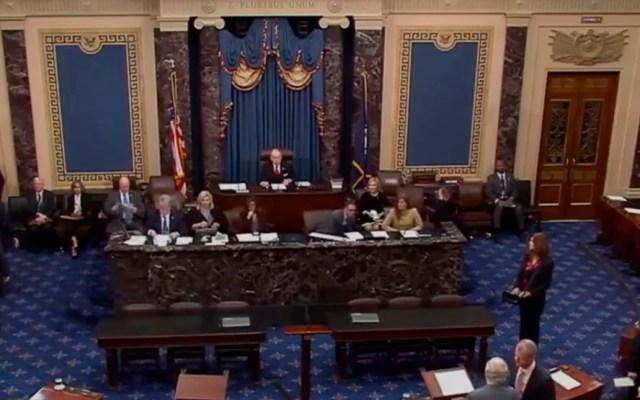 Senado de EE.UU. aprueba el T-MEC - Aprobación del T-MEC en el Senado de EE.UU. Captura de pantalla / Foro Tv
