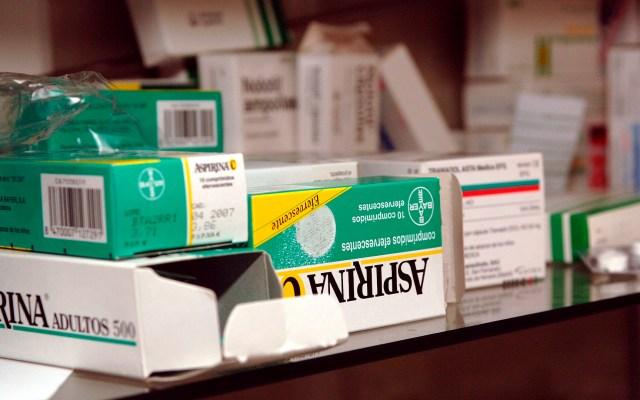 Una aspirina al día podría reducir el crecimiento de tumores cancerosos - Aspirina. Foto de EFE