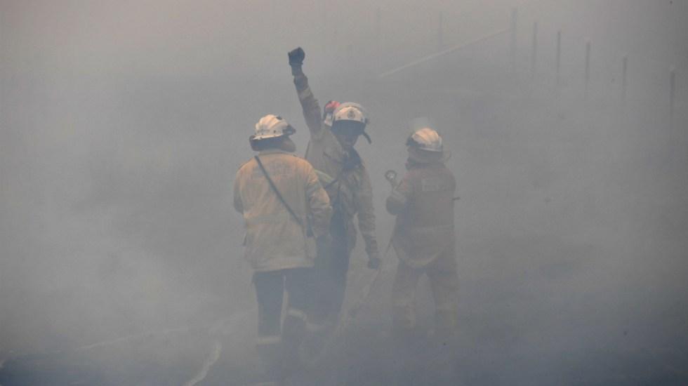 Australia en alerta de incendios por aumento en las temperaturas - Foto de EFE