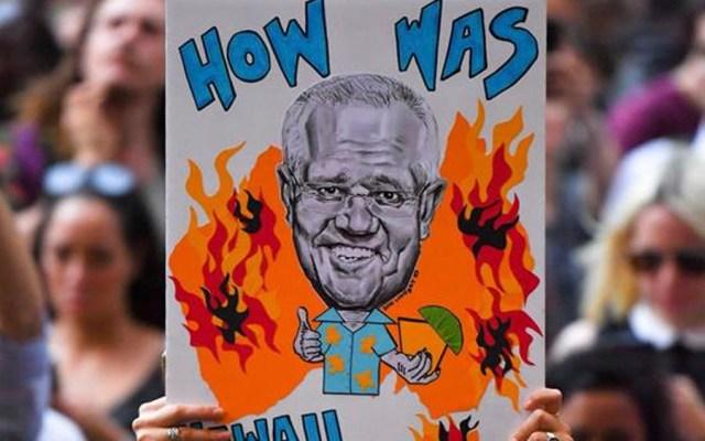 Australianos piden dimisión del primer ministro tras incendios - Australianos piden dimisión del primer ministro tras incendios