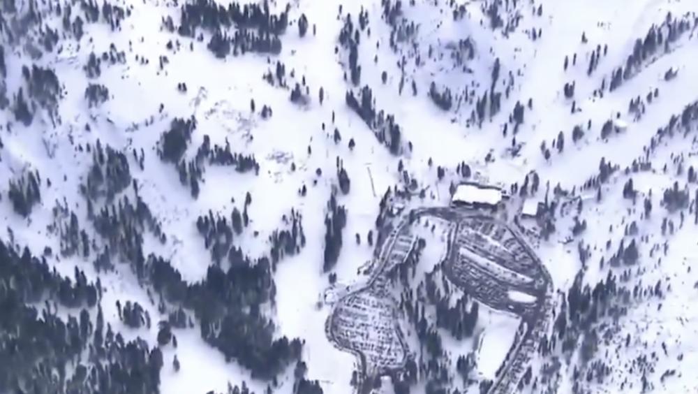 Avalancha en atracción turística de California deja un muerto - Foto de NBC Bay Area